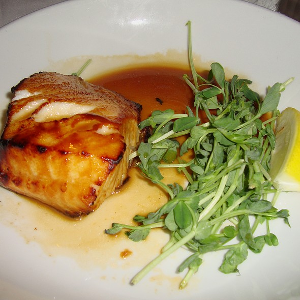 Miso Marinated Sea Bass @ Hugo's Frog Bar & Fish House