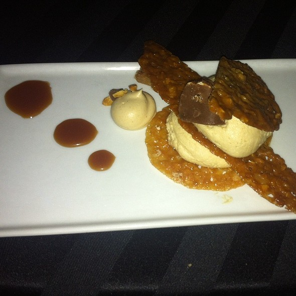 Deconstructed Baby Ruth @ hilton anatole