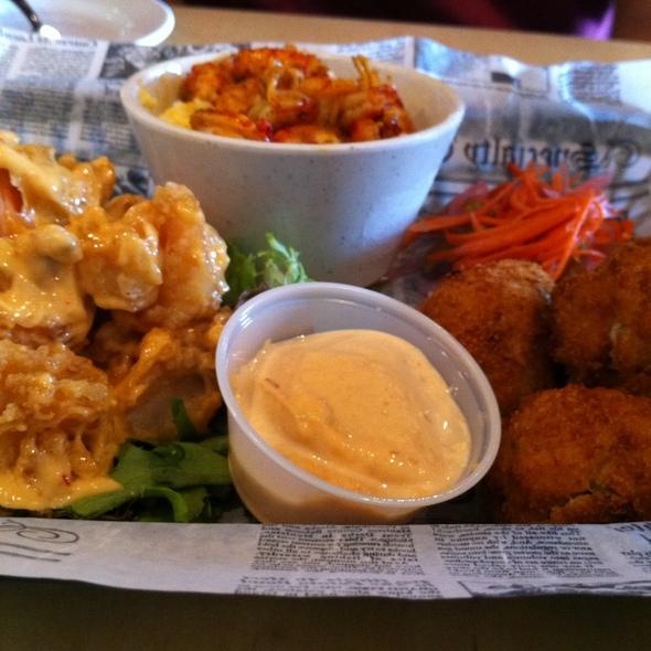 Mixed Appetizer Platter - Tin Can Fish House, Atlanta, GA