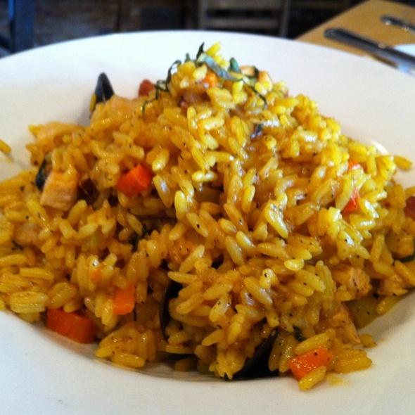 Seafood Paella - Tin Can Fish House, Atlanta, GA