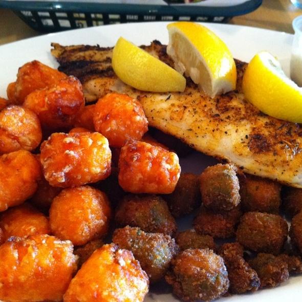 Blackened Grouper - Tin Can Fish House, Atlanta, GA