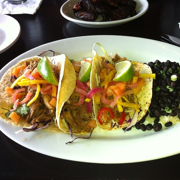 Soft Pork Tacos At Paladar Latin Kitchen U0026 Rum Bar