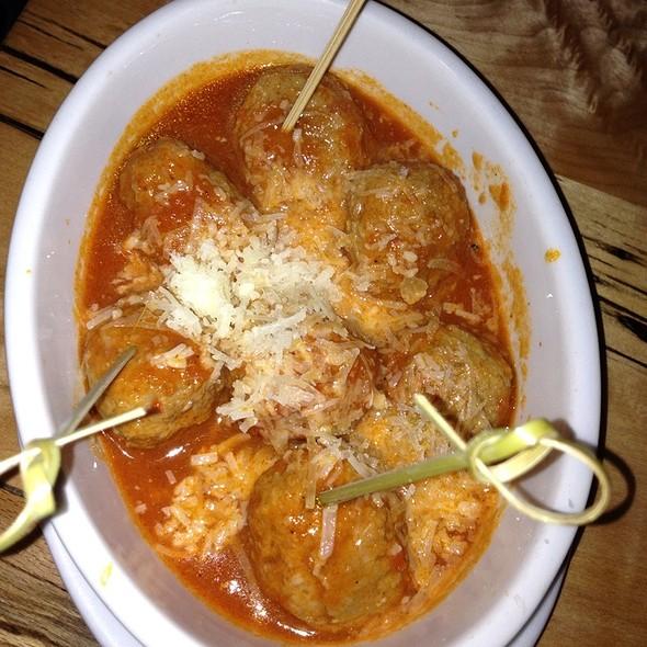 Meatballs @ Cafe Ba-Ba-Reeba