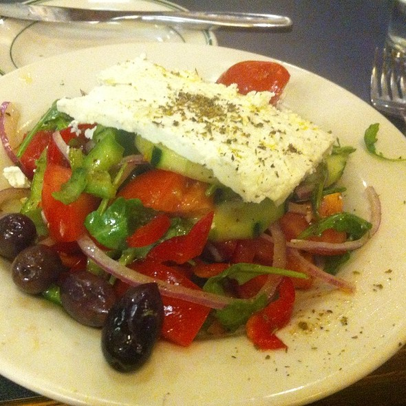 Greek Salad @ Demitri's Taverna