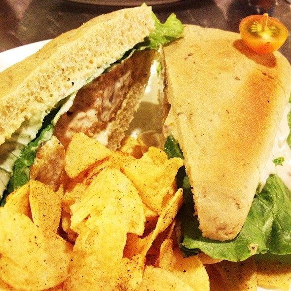Fish Fillet Sandwich @ The Fat Skillet Cafe