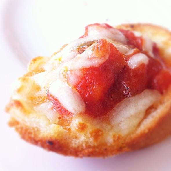 Vegetarian Bruschetta @ Dome Cafe Ikano Power Ctr