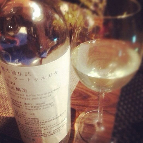 White Wine From Iwate @ ヌッフ・デュ・パプ 六本木店