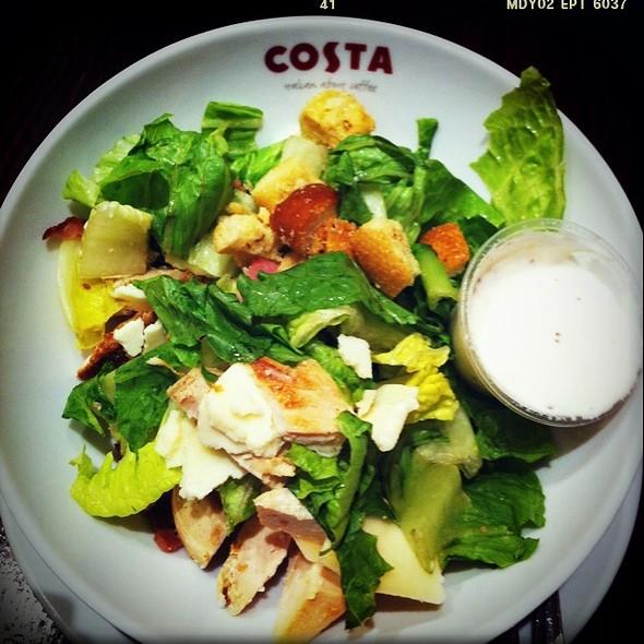 Caesar Salad @ Costa Cafe
