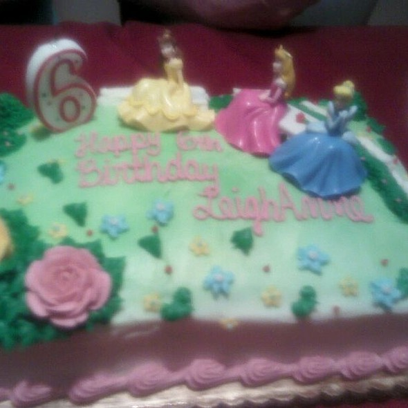 Birthday cake @ Landis Supermarket