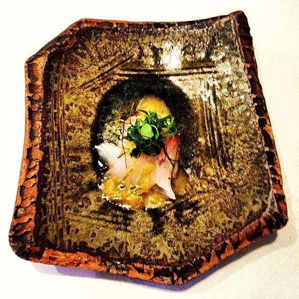 salad of kingfish with blackbean & orange @ Tetsuya's Restaurant