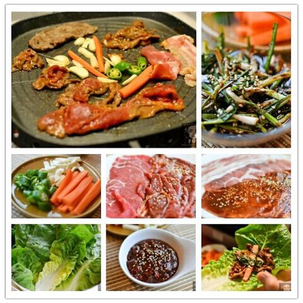 Korean BBQ @ Hut By The River