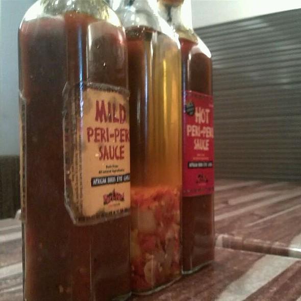 Peri Peri Chicken Sauces/dips @ Peri-Peri Grill House