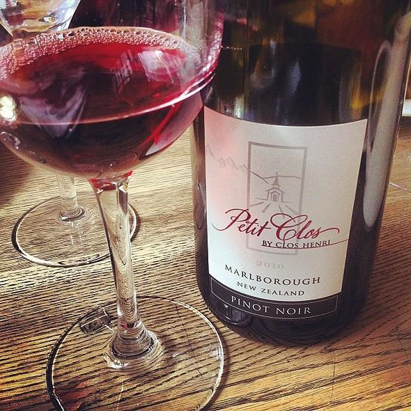 petit clos, pinot noir, marlborough, nz #wine