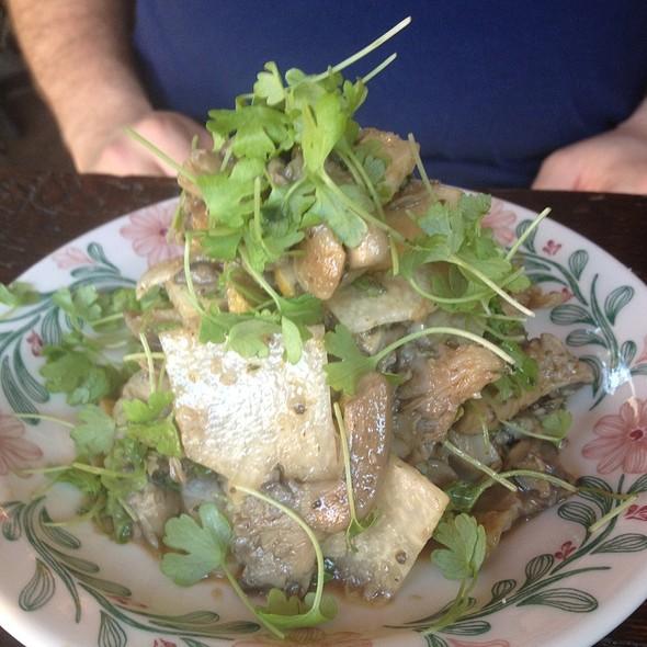 Mushroom And Pear Salad @ ANEJO TEQUILERIA