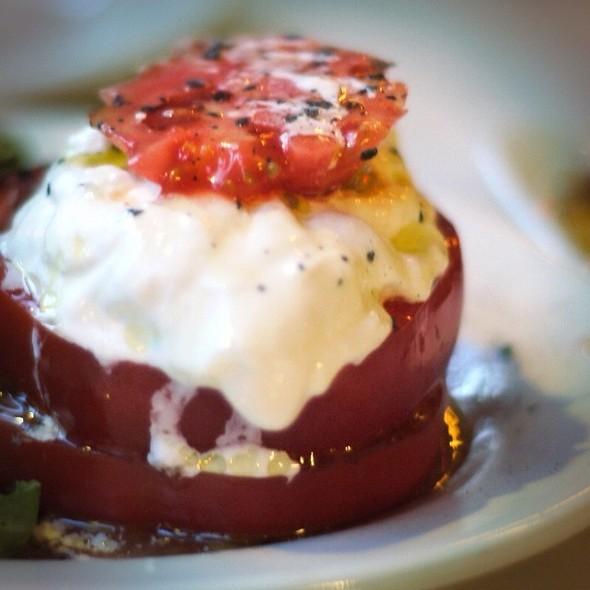 Local Tomato Buffalo Mozzarella Salad - Sauce, New York, NY
