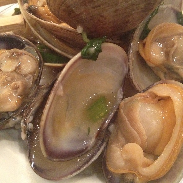Steamed Clams @ Panda King Fine Dining