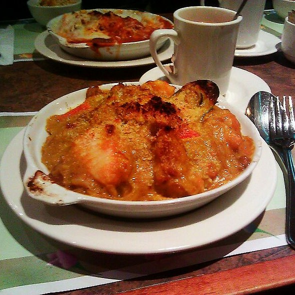 Baked Portuguese Seafood On Rice @ Cafe Gloucester