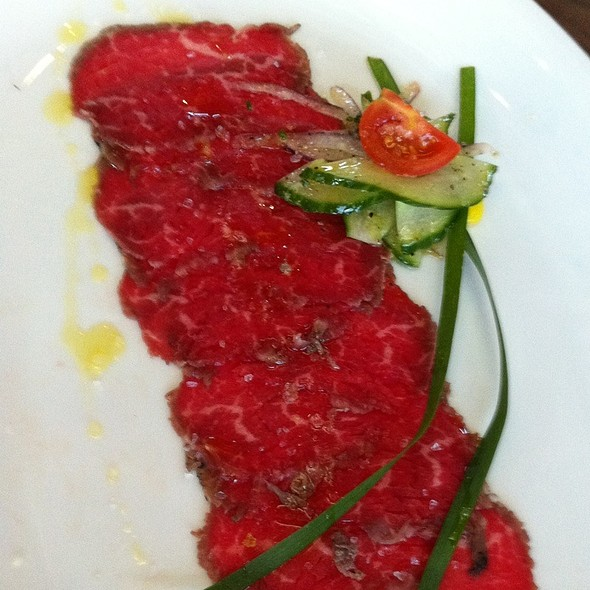 Beef Carpaccio @ Underbelly