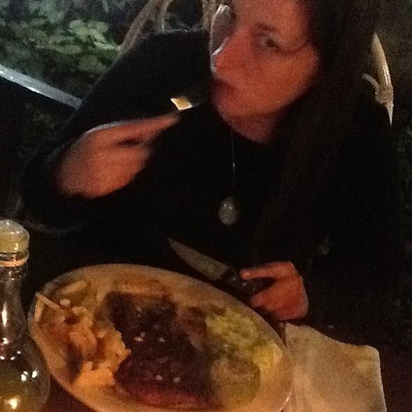 Steak And Chips @ Italian Pizzeria
