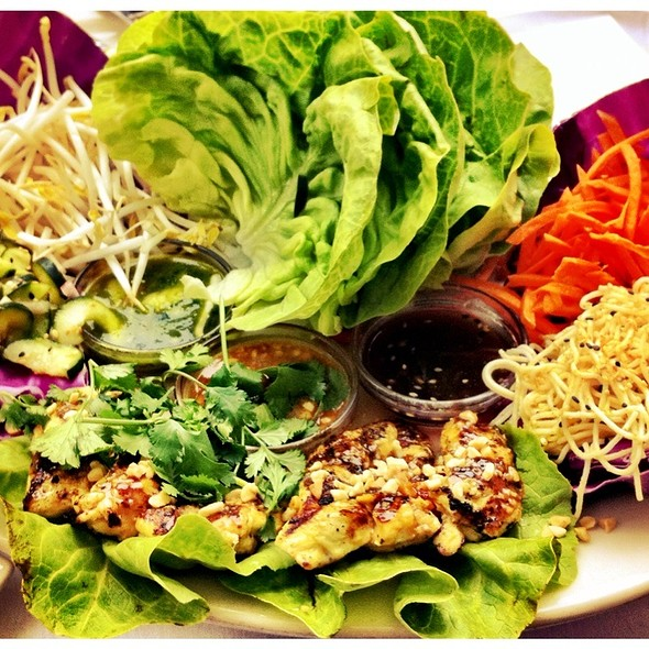 Thai Lettuce Wraps @ Cheesecake Factory