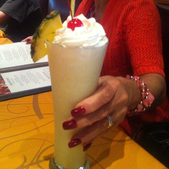 Pina Colada @ Uno Chicago Grill