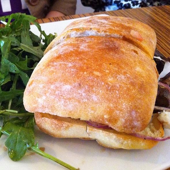 Portobello Sandwich @ The Gallery Cafe