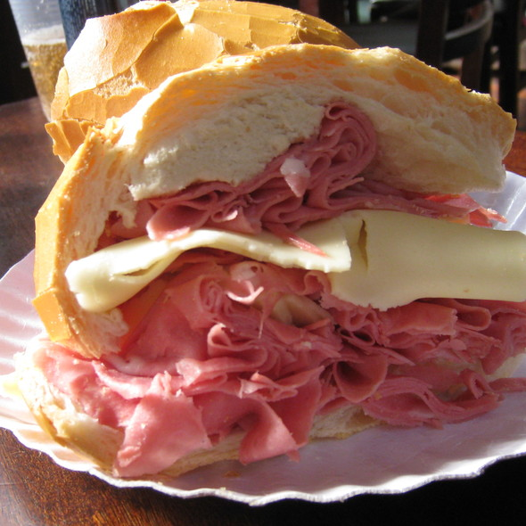Mortadella Sandwich @ Mercado Municipal Paulistano
