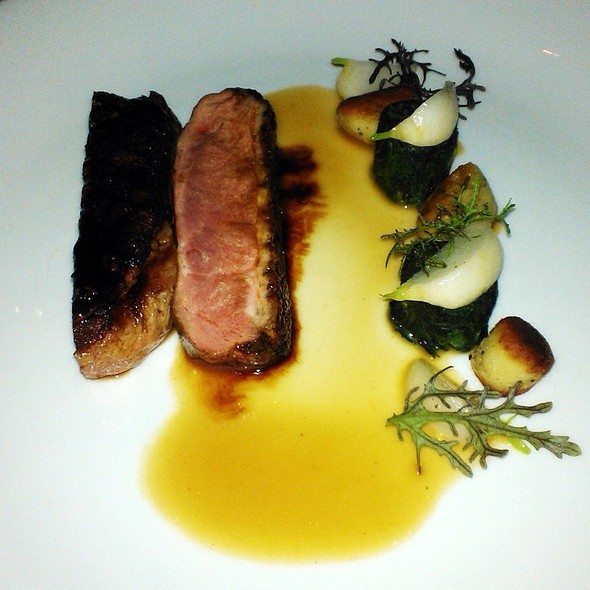 Duck Breast, Spice Glaze, Turnips, Black Pepper Gnocchi, Duck Jus @ Sepia