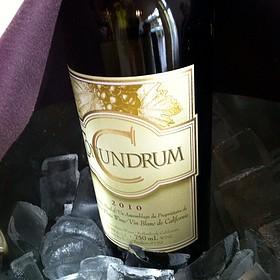 Wine White Conundrum 2010 On Ice