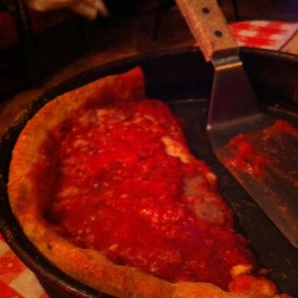 Sausage Deep Dish Pizza @ Gino's East