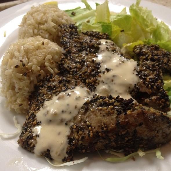 Furikake Pan Seared Ahi @ Alley Restaurant