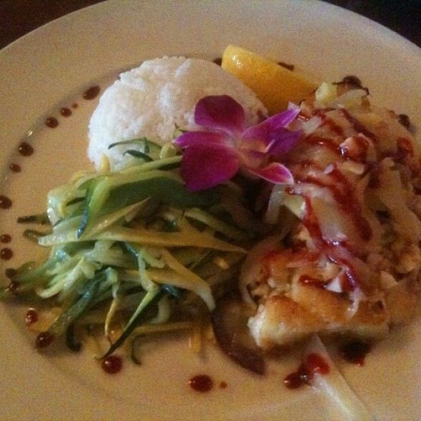 chilaen seabass - East Bay Grille, Plymouth, MA