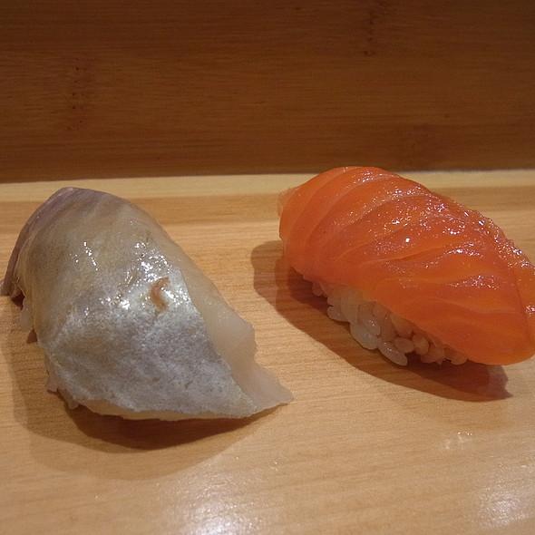 Salmon @ Sushi Yasuda Ltd