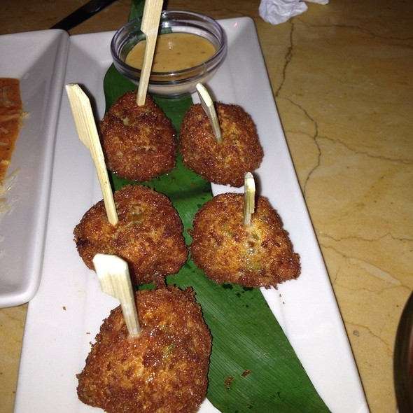Shrimp Lollipops @ Cheesecake Factory