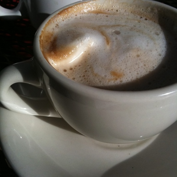 Soy Cappuccino @ Old City Coffee, Inc.
