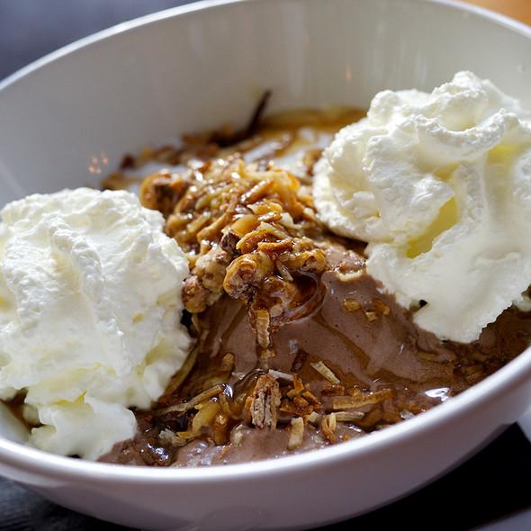 German Chocolate Cake Pudding @ Satis Bistro