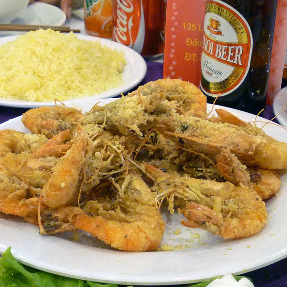 Fried Shrimp with Salt