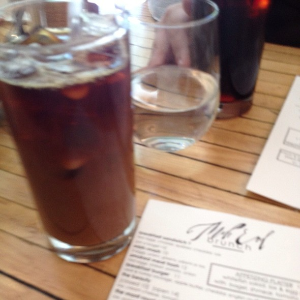 Iced Coffee @ Mile End Delicatessen