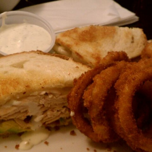 Turkey Avocado Club Sandwich @ Jerry's Famous Deli
