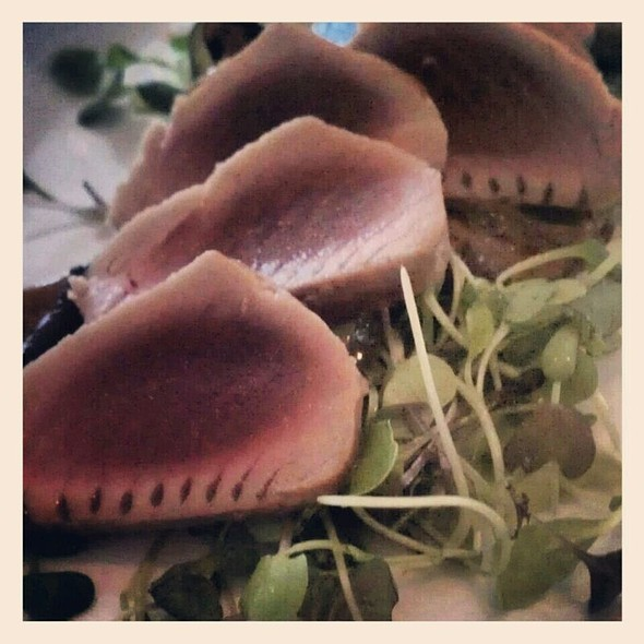 Grilled Tuna @ Five Bistro