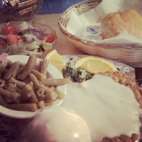 Chicken Fried Steak @ Blue Owl Restaurant & Bakery
