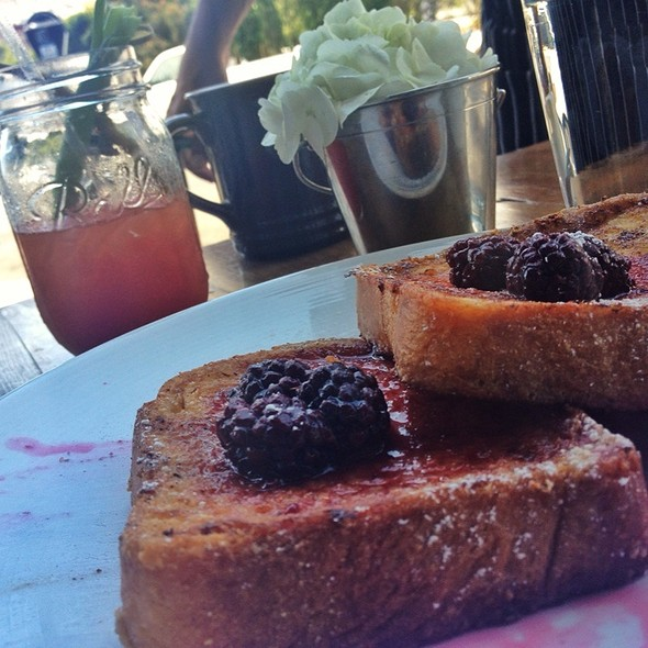 brioche french toast @ Park Tavern