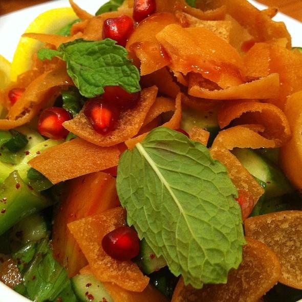 Fattoush Salad @ Al Rousha