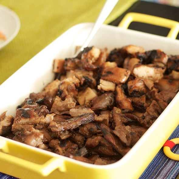 Pork And Chicken Bbq @ Ihawan Two