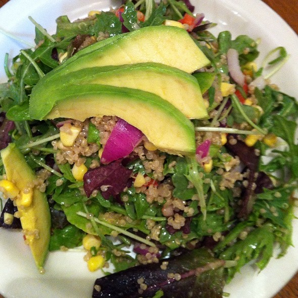 Fluffy Quinoa Salad @ Peacefood Cafe Inc