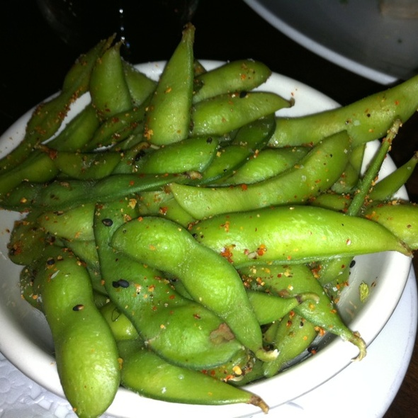 Spicy Edamame - Wined Up Wine Bar, New York, NY