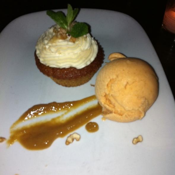 Carrot Cake And Pumpkin Gelato - Wined Up Wine Bar, New York, NY