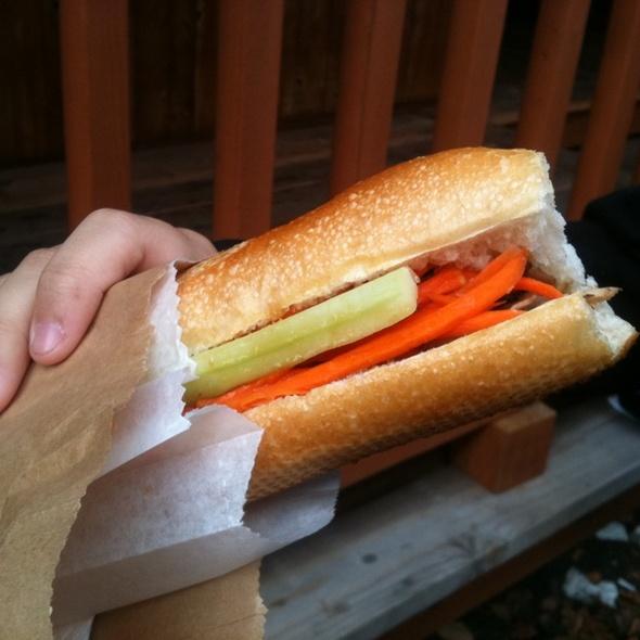 Teriyaki Chicken Banh Mi @ Vietnamese Banh Mi