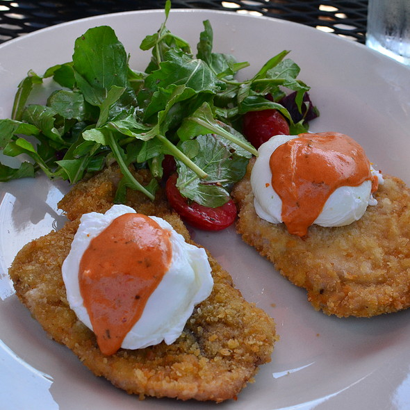Poached Eggs and Pork Milanese - Rowland, Richmond, VA