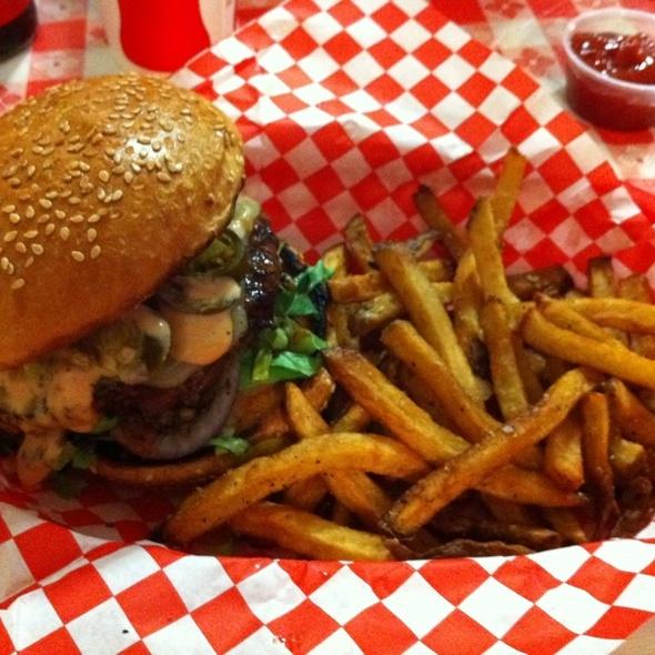 Volcano Burger @ Charm City Burger Company